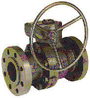BALOB BALL VALVE F-Series (Flanged End) Carbon Steel Gear-Operated