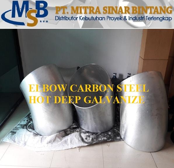 Elbow Carbon Steel A234 Wpb Galvanize