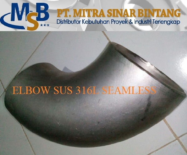 ELBOW SEAMLESS SS ASTM A403-WP316L