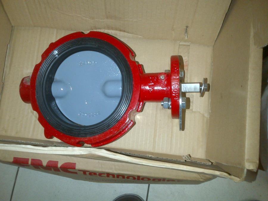 FMC WECO BUTTERFLY VALVE 5 inch model 12N
